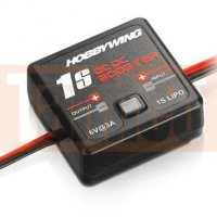 Hobbywing DC-Booster für 1s Lipo, Ausgang 6V 2 Ampere