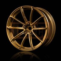MST Gold GTR Felgen (+5 Offset) (4 Stk.) 26mm