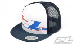 Pro-Line 82 White Trucker Snap Back Hat (One Size Fits Most)