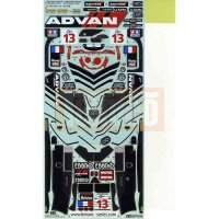 Tamiya Aufkleber ADVAN Courage LC70 Mugen (#58376) #9495499