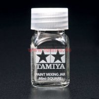 Tamiya Farb-Mischglas / Color Mixing Jar (eckig) 10ml