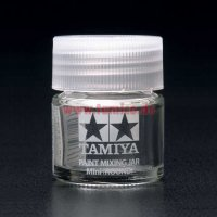 Tamiya Farb-Mischglas / Color Mixing Jar (rund) 10 ml