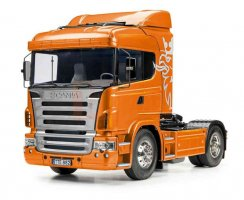 Tamiya Scania R470 4x2 Highline Bausatz (orange...