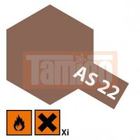 Tamiya Spray AS-22 Erdfarbe Dunkel matt 100ml #86522