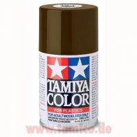 Tamiya Spray TS-1 Rot-Braun / Red Brown matt 100ml