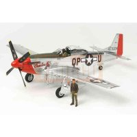 Tamiya U.S. P-51D Mustang Tuskegee (Silver Color Plated)...