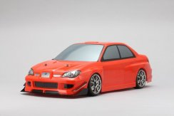 Yokomo Yukes SYMS GDB Impreza Body Set No Decals
