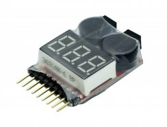 Yuki Model LiPo-Checker /-Tester / -Warner /-Wächter 1-8S...