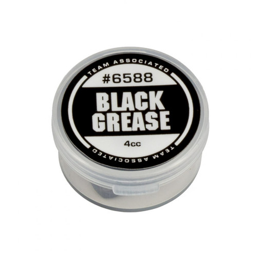 Team Associated Black Grease Fett (zäh, schwarz) 4ml