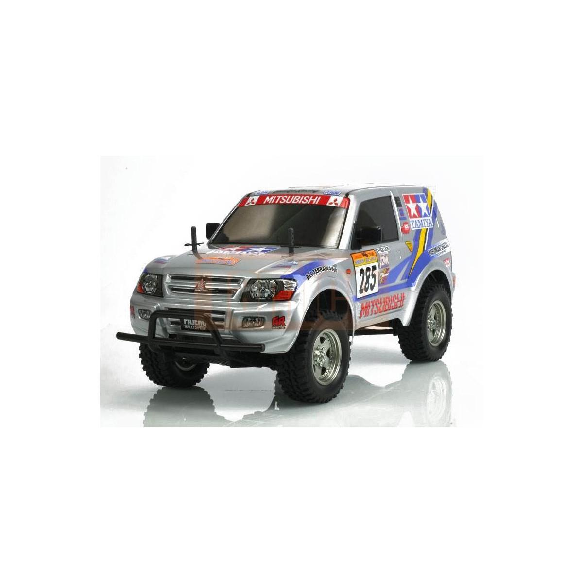 tamiya mitsubishi pajero rally sport cc-01 bausatz #58602
