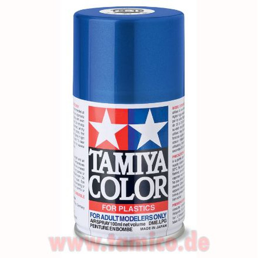 Tamiya Spray TS-19 Metallic Blau / Blue glänzend 100ml