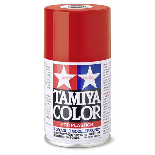 Tamiya Spray TS-49 Ferrari Rot / Bright Red glänzend 100ml