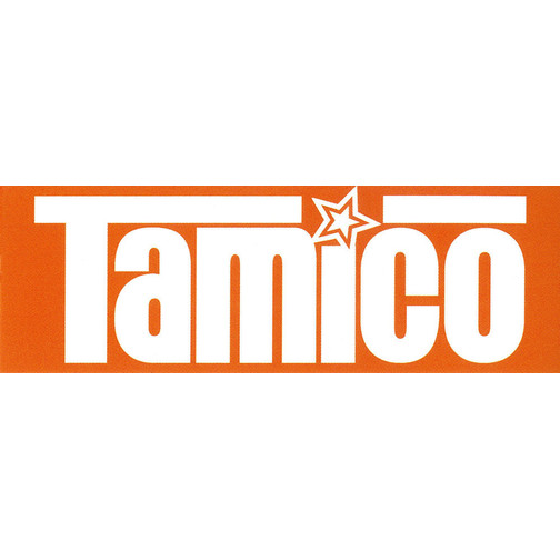 Tamico Aufkleber Orange 10,5x3,5cm