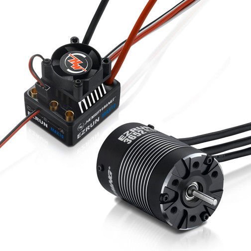 Ezrun Combo MAX10-3652SL-5400KV  1/10 Off-On-Road Waterproof