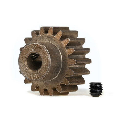 Traxxas Gear, 18-T pinion (1.0 metric pitch) (fits 5mm shaft)/ set s