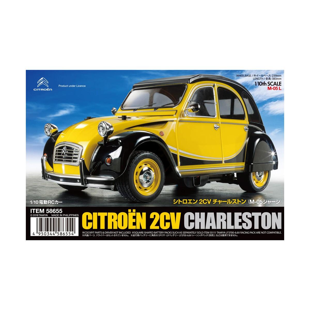 0f645849ff Tamiya 58655 Citroen 2CV (Ente) Charleston M-05 Bausatz