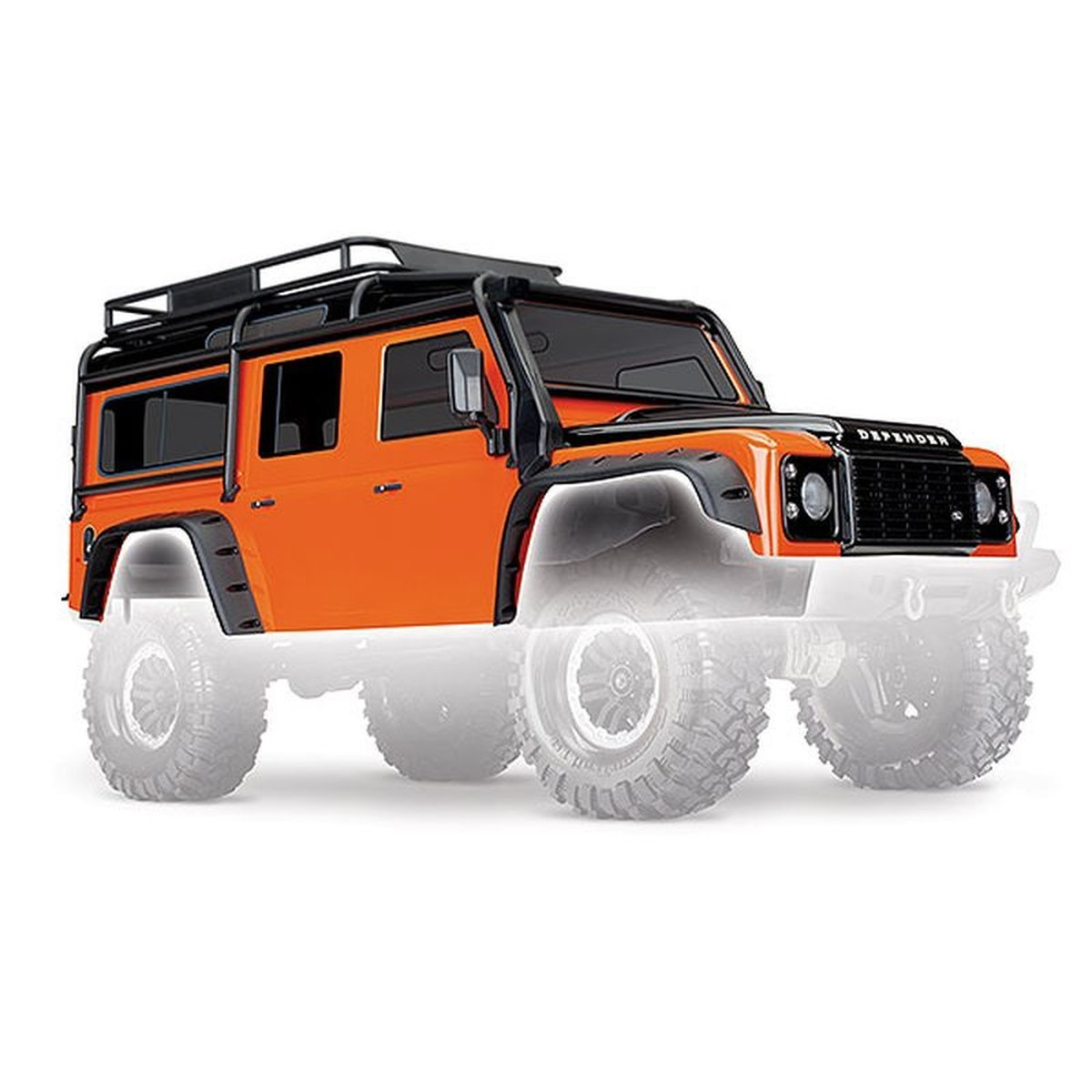 Rc Land Rover Defender Karosserie : traxxas 8011a karosserie land rover defender adventure edition orange ~ Aude.kayakingforconservation.com Haus und Dekorationen