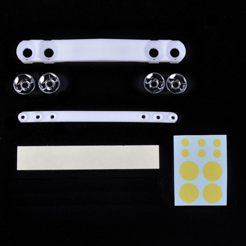 Tamico Light Buckets Kit (front and rear) for Tamiya NSU TT Body