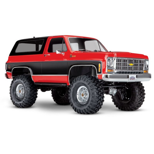 TRAXXAS TRX-4 Chevy Blazer 4x4 rot RTR without Battery/Charger
