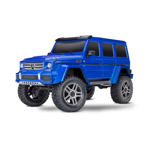 TRAXXAS TRX-4 Mercedes G 4x4² blau RTR without Charger and Battery