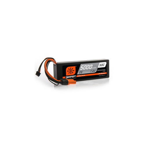 Spektrum Smart LiPo 5000mAh 2S 7.4V 50C IC5