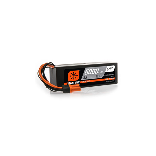 Spektrum Smart LiPo 5000mAh 3S 11.1V 50C IC5