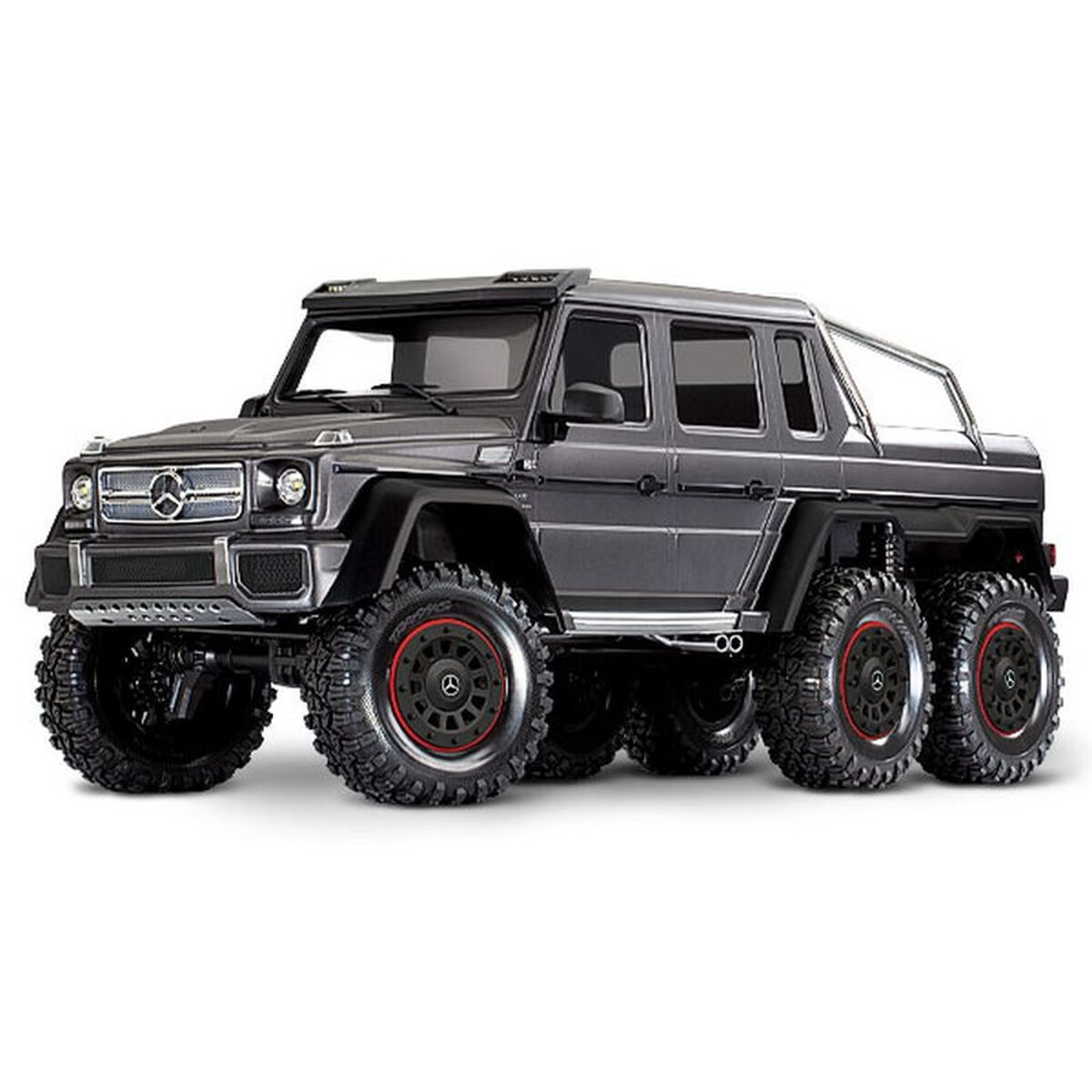 Traxxas Trx 6 Mercedes Benz G63 Amg 6x6 Rtr W Out Battery Charger Si