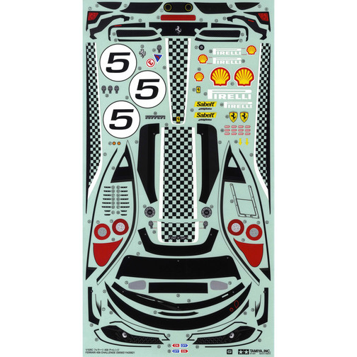 Rc Car Sticker And Decals Tamico Page 5