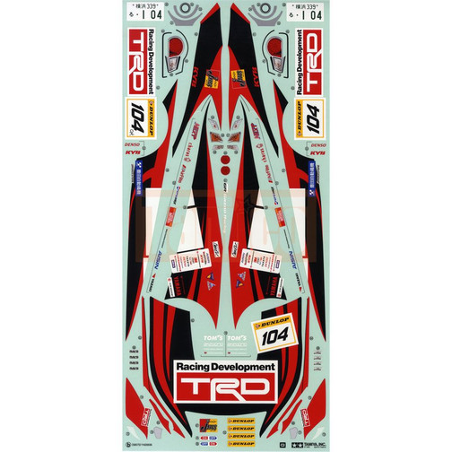Rc Car Sticker And Decals Tamico