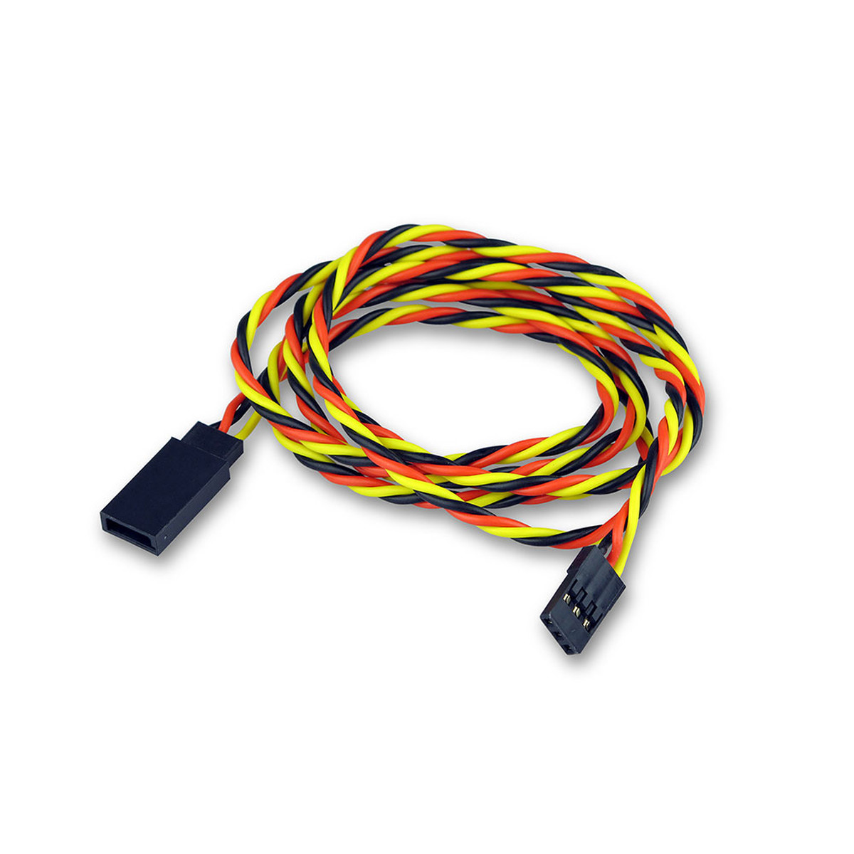 servoverl ngerungs kabel graupner jr futaba 90cm. Black Bedroom Furniture Sets. Home Design Ideas
