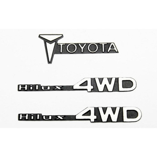 RC4WD 1/10 Metal Emblem for Tamiya Hilux